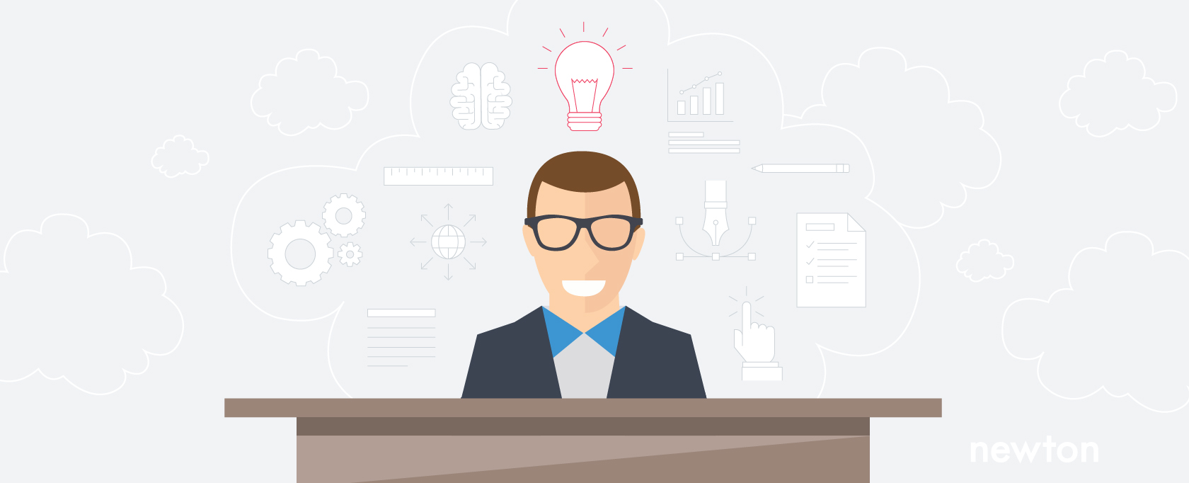 A person applying the principles of design thinking unlocks insights for creating the ideal candidate journey.